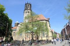 Katholische St. Ludgeri Kirche in Münster - entstanden ab 1173, Fertigstellung um1220.