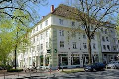 Wohnhaus / Geschäftshaus am Hansaplatz in Münster.