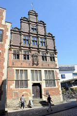 Krameramtshaus in Münster - historische Giebelhaus.