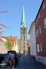 Herz Jesu Kirche in Münster, erbaut 1900 - Entwurf Architekt Wilhelm Rincklade.