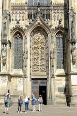 Lamberti Kirche in Münster, erbaut zwischen 1375 und 1525.