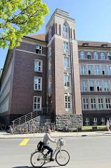 Gebäude, Treppenhaus vom Hansa-Berufskolleg in Münster -