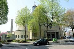 Ehemalige Heilig-Geist-Kirche am Minderbroedersingel in Roermond, Weihe 1957 / Entwurf von Frits PJ Peutz . Seit 2010 ist in dem Gebäude ein Gesundheitszentrum.