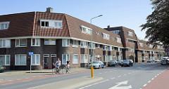 Wohnsiedlung im Franciscus Romanusweg von Maastricht, erbaut 1921 - Architekten Z. Gulden und J. Geldmaker.