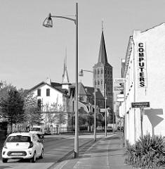 Der Stadtteil Tegelen von Venlo - Blick zur dortigen Martinskirche.