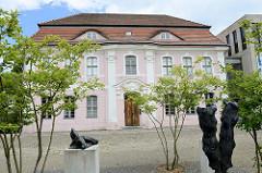 Historisches Gebäude vom Kleist Museum in der  Faberstraße in Frankfurt (Oder); Geburtshaus des Dichters - ehemalige Garnisonschule, die jetzt unter Denkmalschutz steht.