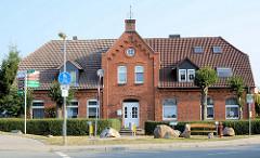 Backsteinarchitektur, Wohnhaus auf der Insel Poel - Mecklenburg Vorpommern.