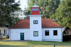 Leuchtturm Gollwitz - jetzt Nebelsignal;  Insel Poel - Mecklenburg Vorpommern.