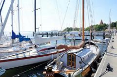 Hafen von Kirchdorf  Insel Poel - Mecklenburg Vorpommern.
