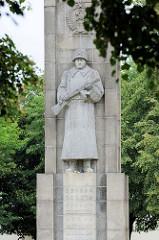 Ehrenmal für die siegreiche sowjetische Armee in Słubice.