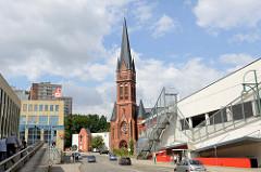 Katholische Heilig Kreuz Kirche in Frankfurt / Oder; geweiht 1899 - Architekt Engelbert Seibertz.