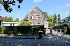 Denkmalgeschütztes  Wohnhaus / Einfamilienhaus in Hamburg Wellingsbüttel; errichtet 1928 - Architekten Ludwig Maas + Paul Göbel.