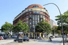 Kontorhaus am Högerdamm in Hamburg Hammerbrook - jetzt Nutzung u. a. als Hotel.