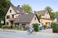 Wohnhausensemble an der Flurstraße im Hamburger Stadtteil Lurup - die Gebäude wurden ab 1873 errichtet.