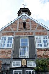 Ehem. Kupfermühle in Hamburg Ohlstedt-Wohlstedt, jetzt private Nutzung. Das restaurierte Gebäude wurde 1827 errichtet.