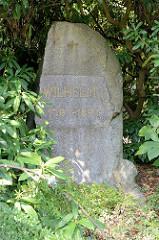Denkmal für Kaiser Wilhelm I. in Hamburg Wellingsbüttel, aufgestellt 1897.