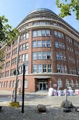 Kontorhaus Sonninhof an der Sonninstraße in Hamburg Hammerbrook; errichtet 1914 - Architekt Curt Kaltofen.