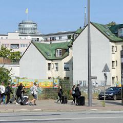 Wohnhäuser in der Spaldingstraße im Hamburger Stadtteil Hammerbrook; errichtet 1887 - Architekten Haller & Fitschen.