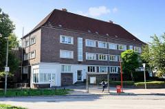 Siedlung Sengelmannstraße im Hamburger Stadtteil Alsterdorf; errichtet 1931 - Architekten Klophaus, Schoch, zu Putlitz.
