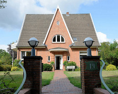 Einfamilienhaus am Schleusenredder im Hamburger Stadtteil Wohldorf-Ohlstedt.
