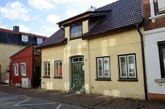 Gründerzeitliche Wohnhäuser in der Koppelstraße von Pinneberg.