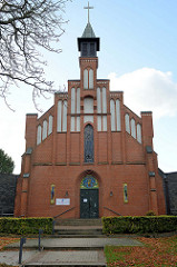 Katholische St. Michael Kirche in Pinneberg, erbaut 1906 - Architekt Franz Hellenkamp.