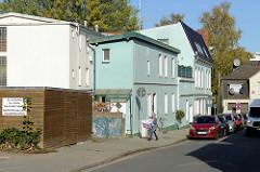 Wohnhäuser / Werkstätten in der Schulstraße von Pinneberg.