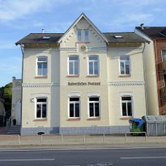 Gebäude der Kaiserlichen Postagentur Altrahlstedt; Postamt errichtet anno 1873 in Hamburg Rahlstedt.
