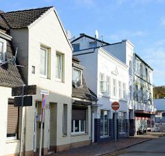 Gründerzeitliche Wohnhäuser / GEschäftshäuser  in der Koppelstraße von Pinneberg.