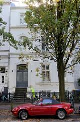 Bilder der Kulturdenkmale in der Hansestadt Hamburg Hansestadt Hamburg; Wohngebäude im Uhlenhorster Weg, erbaut um 1870.