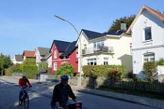 Einzelhäuser der Gründerzeit, Stadtvilla in der Amtsstraße von Hamburg Rahlstedt.