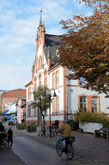 Gebäude vom ehemaligen Kreishaus in Pinneberg, Rübekamp - errichtet 1893.