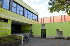 Gebäude der Grundschule Rübekamp in Pinneberg.