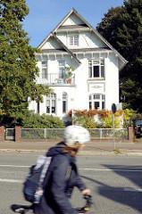 Einzelhaus / Gründerzeitvilla  an der Amtsstraße im Hamburger Stadtteil Rahlstedt.