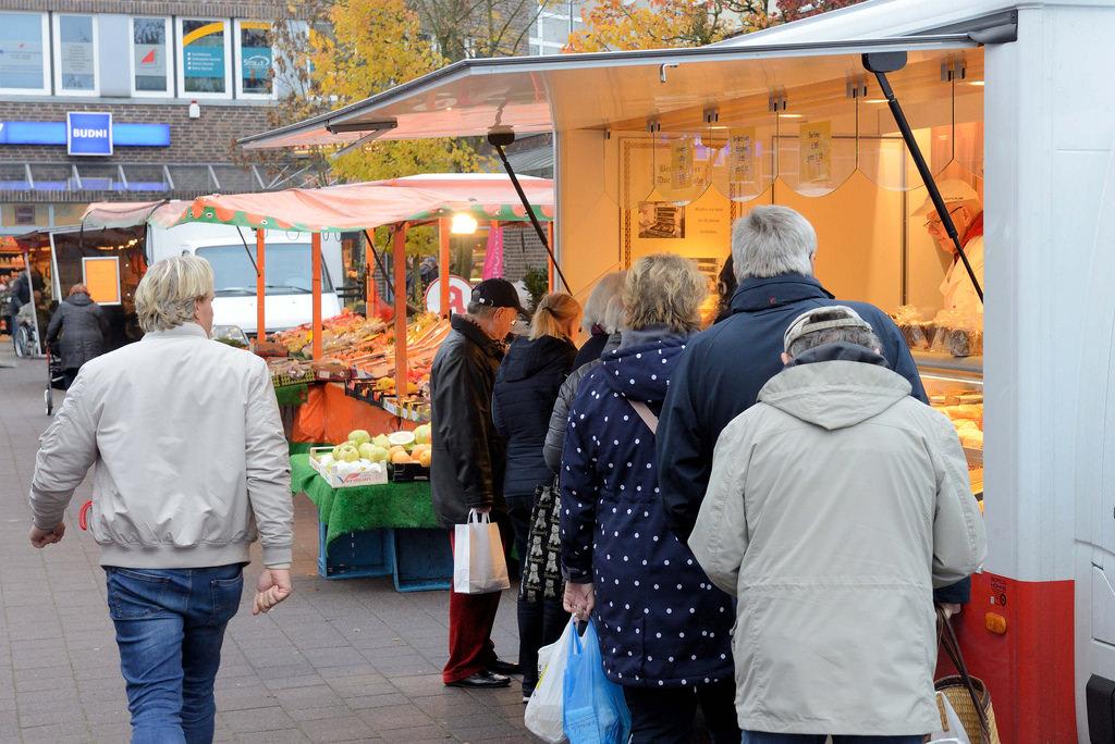 Wochenmarkt Poppenbüttel