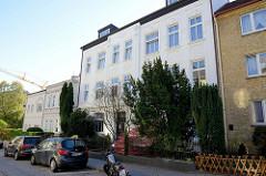 Etagenhaus in der Benningsenstraße von Hamburg-Harburg,  errichtet um 1902 - Architekt Pfannkuche.