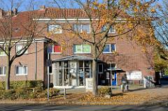 Stadtteilbüro in der Straße Bei den Höfen  in Hamburg Jenfeld.