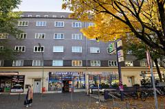 Backsteinarchitektur im Hamburger Stadtteil Harburg, Siedlungsbau Am Centrumshaus - errichtet 1930, Architekt Georg Hinrichs.