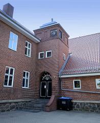 Nebengebäude / Ludwig Reinhard Stadtbibliothek in Boizenburg/Elbe.
