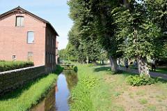 Historischer   Wallgraben in Boizenburg/Elbe.