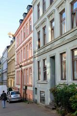 Historisches  Mehrfamilienhaus in der Baererstraße im Hamburger Stadtteil Harburg, errichtet 1890 - Architekt Heinrich Meier.