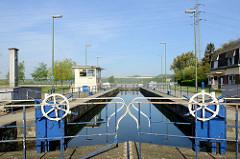 Verbindungsschleuse zwischen dem Albert Kanal und der Maas bei Visé.