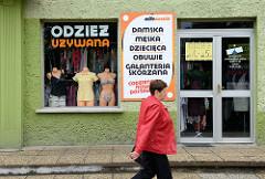 Galanterie, Bekleidungsgeschäft für Herren und Damen in  Groß Strehlitz / Strzelce Opolskie.