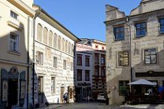 Latrán-Viertel in Krumau an der Moldau / Český Krumlov.