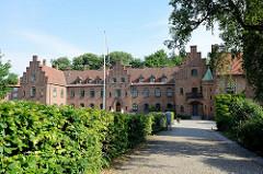 Gebäude vom Kloster Roskilde.