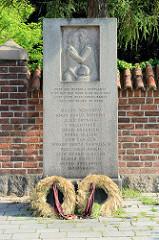Gedenkstein für die Besetzung Dänemarks im II. Weltkrieg durch Nazi-Deutschland