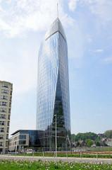 Tour Paradis / Tour des Finances de Liège / Lüttich - erbaut 2014, Entwurf Jaspers-Eyers Architects.