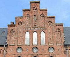 Neogotischer Treppengiebel - Gerichtsgebäude / Gefängnis in Roskilde.