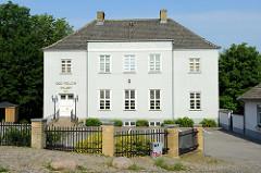 Odd Fellow Palæet in der Skolegade von Roskilde.