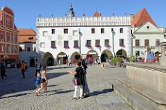 Rathaus in Český Krumlov /  Krummau an der Moldau;